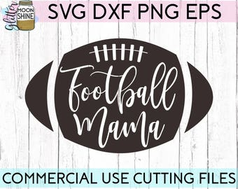 Football Mama svg eps dxf png Files for Cutting Machines Cameo Cricut, Cute, Football Mom svg, Girly svg, Team Mom svg, Cute Football svg