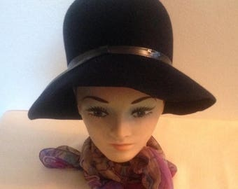 Anniversary Sale Beautiful Vintage Black Ladies Hat