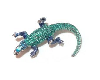 Vintage Alligator Pin