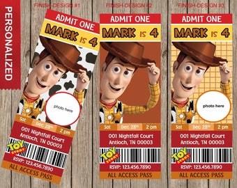 Toy Story Birthday Invitation, Toy Story Invitations, Toy Story Birthday Party, Toy Story Birthday Invites. Digital (print it yourself)
