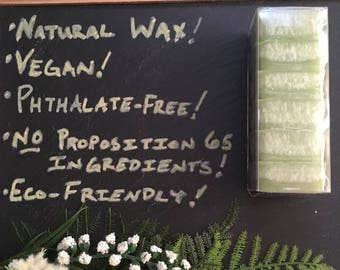 Wax Melts  - Sage and Citrus - Natural Wax - Phthalate free and hand-blended scents - Highly Scented - No Proposition 65 Ingredients