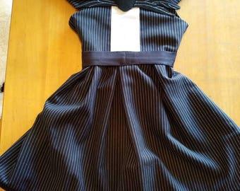 Jack Skellington inspired dress