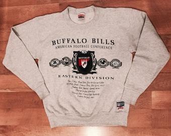 Vintage Nutmeg Buffalo Bills NFL Men's Medium Sweatshirt