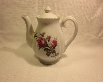 Vintage Moss Rose teapot - Japan