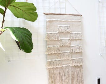Patchwork Macrame Wall Art