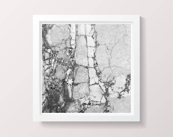 Urban Photography, Black and White Photography, pavement, jigsaw, puzzle, puzzle piece, home decor, street photography, urban exploring