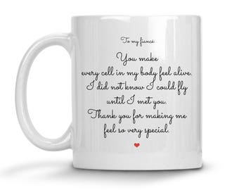 Valentines Day Gift For Fiance - Fiance Cup - Funny Fiance Gift - Fiance Birthday Gift - Fiance Coffee Mug - Fiance Gift For Him