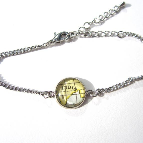 World map bracelet - Asia / Indonesia variations