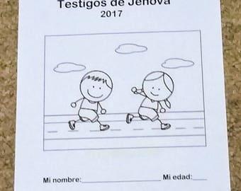 SPANISH   Español 3-5yo Regional Convention Notebook No Se Rinda 2017 Asamblea de lo Testigos de Jehová