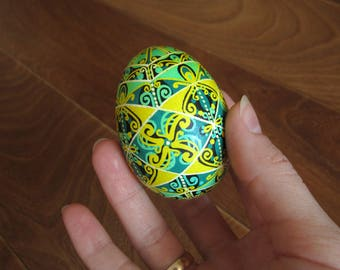 Hand painted Easter eggs.Pysanka.Ukrainian real Easter eggs.Batic eggs.Chicken pysanka. Ukrainian egg. Free shipping