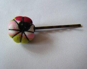 Japanese flower hair clip