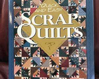 "Leisure Arts ""Quick and Easy Scrap Quilts"" book"