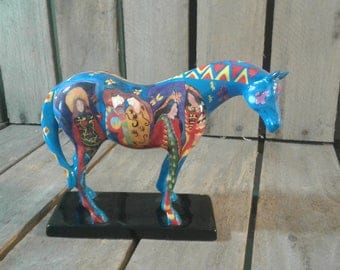 The Trail of Painted Ponies Horse Figurine