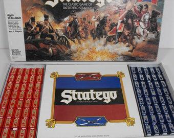 1986 Stratego Game by Milton Bradley  (1159)