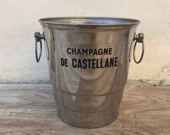 Vintage French Champagne French Ice Bucket Cooler France CASTELLANE 26011812