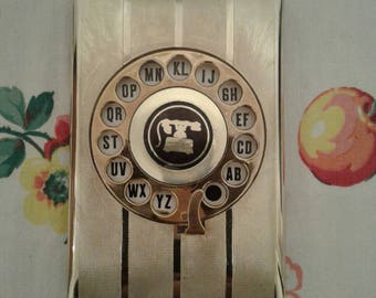 Free Shipping Anywhere!!! Vintage Rotary Dial Telephone Address Book New In Package
