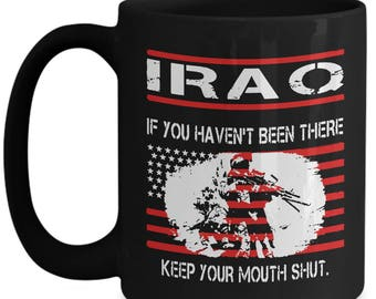 Veterans Day gift Iraq war coffee mug army marines navy air force vets