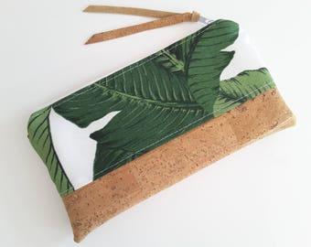 """Pencil Case """"Banana Leaves"""""""