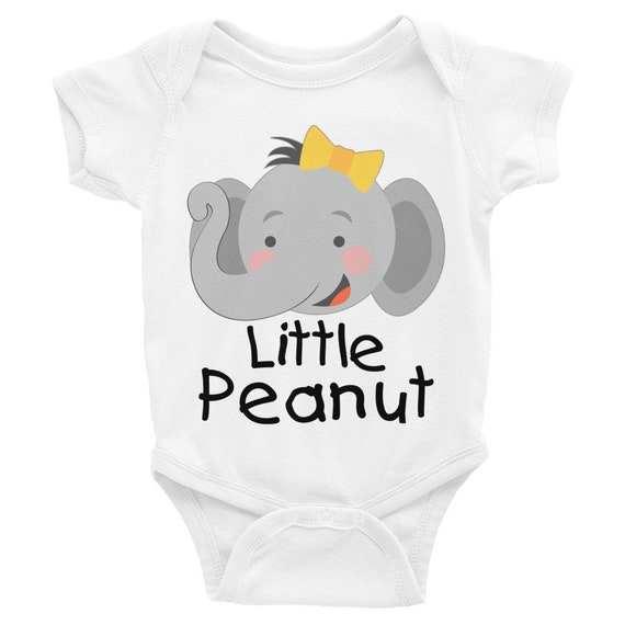 Little peanut baby onesie, funny baby onesies, cute baby onesies, baby girl onesie, onesie, baby onesie, baby gift, girl onesie, baby girl