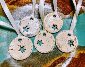 Christmas or every day Ornament set of 5