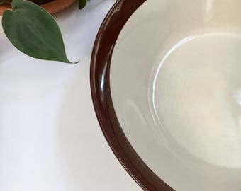 Earth Tone Serving Bowl