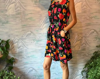 Vintage One Piece Shorts Jumpsuit Patterned Overalls Black Rompers Large Size Safari Overalls Festival Clothing