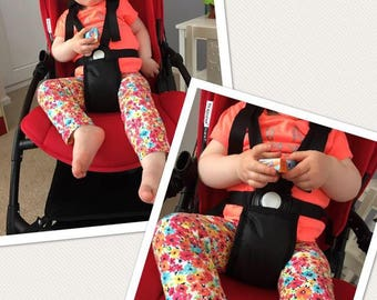Universal Crotch Strap Padded Cover for Pram, Pushchair, Buggy.