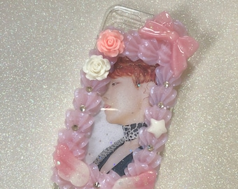 Bts j hope whip border decoden case for iphone 6/6s/7/8