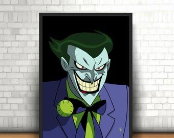 The Joker, Justice League - Original Art - Poster Print
