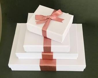 """Rose Gold Ribbon - Wedding Ribbon - Rose Gold Sparkle Satin Trim - 1/8"""" 3/8"""" 5/16"""" 1"""" 1 1/2"""" - Gift Wrapping - Bridal - Metallic - Shimmer"""