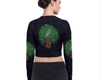 Dead tree of life, (all-over print) Zip Up Bomber Jacket