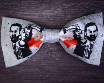 The Walking Dead Rick Grimes Bow Tie
