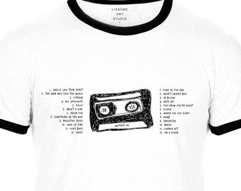 Mixtape T-Shirt NIRVANA by Lissome Art Studio