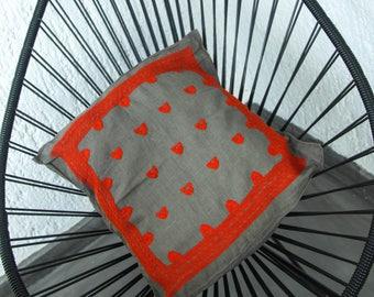 Pino Pillow Case - Orange