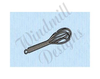 Whisk - Machine Embroidery Design