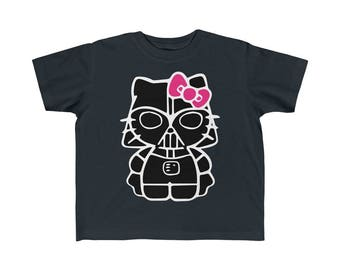 Darth Kitty Toddler Fine Jersey Tee