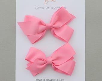 Grosgrain ribbon pigtail sets