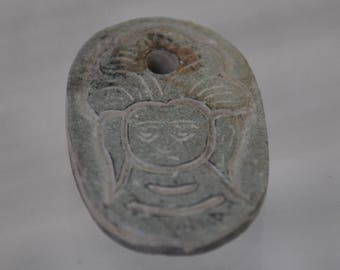 Locket engraved stone native land of Buddha - Nepal Lumbini - BI039