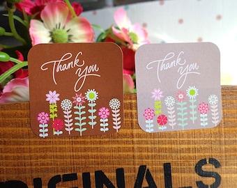"Tags/labels 36 pieces/pieces set ""thank you"""