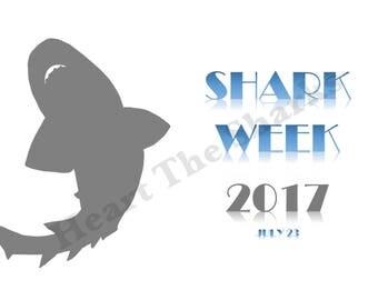 Shark Week reminder - digital download only