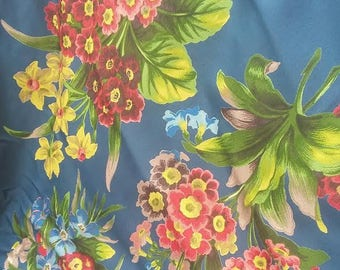 Rare: Fabric Boussac Collection Rosamond by Laurent Steve, sold in one piece