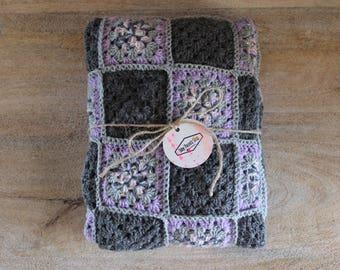 Baby crochet square blanket