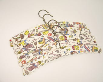 Vintage 50s children clothes hangers