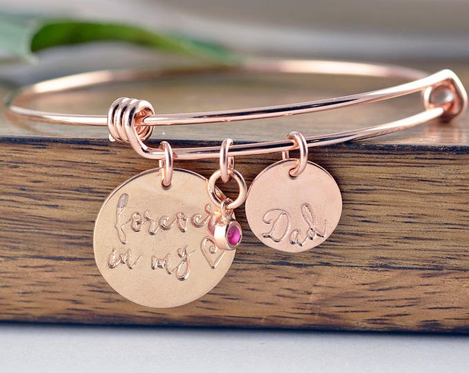 Forever In My Heart Bracelet, Parent Loss, Baby Loss, Pet Loss, Memorial, Remembrance, Miscarriage, Bereavement
