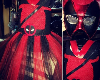 Deadpool TuTu Costume