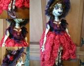 OOAK Doll Santa Catrina