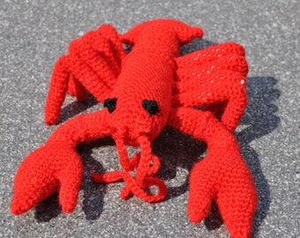 Crochet lobster