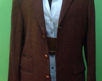 90s. Vintage Jacket Unisex. Vintage Jacket. Jacket of Vittorio Veneto. Woolen jacket.