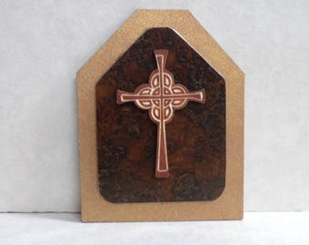 Miniature cross, Dollhouse miniature, small laser-cut cross, 1/12th, 1/6th, Barbie scale, diorama