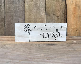 White Washed Wood Sign. Farmhouse Style. Signs. Gifts. 4MenAndALadyCrafts